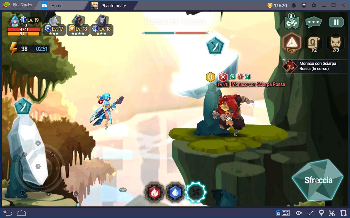 Phantomgate: Consigli per la modalità Avventura