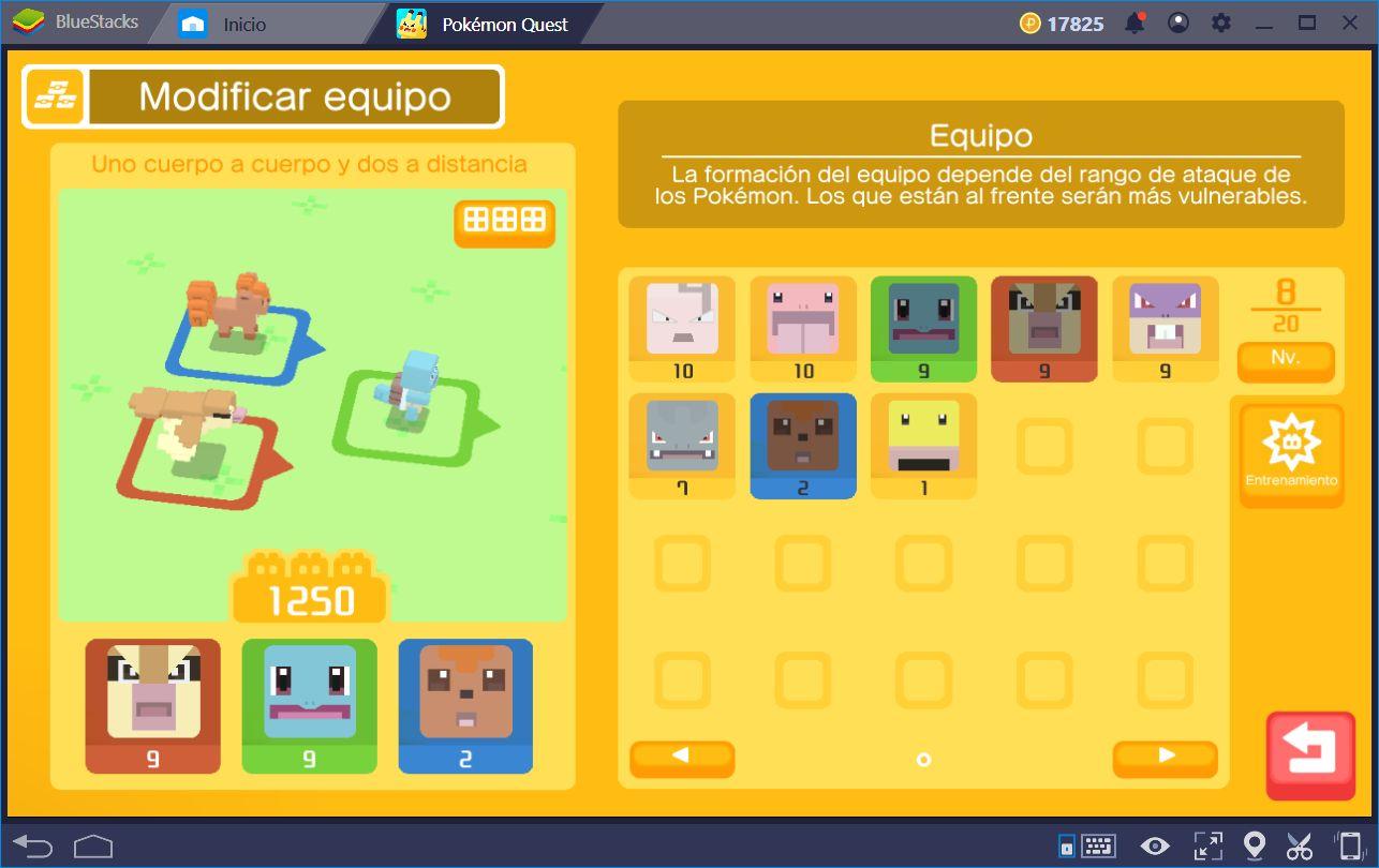 Cómo Superar Mapas Difíciles en Pokémon Quest