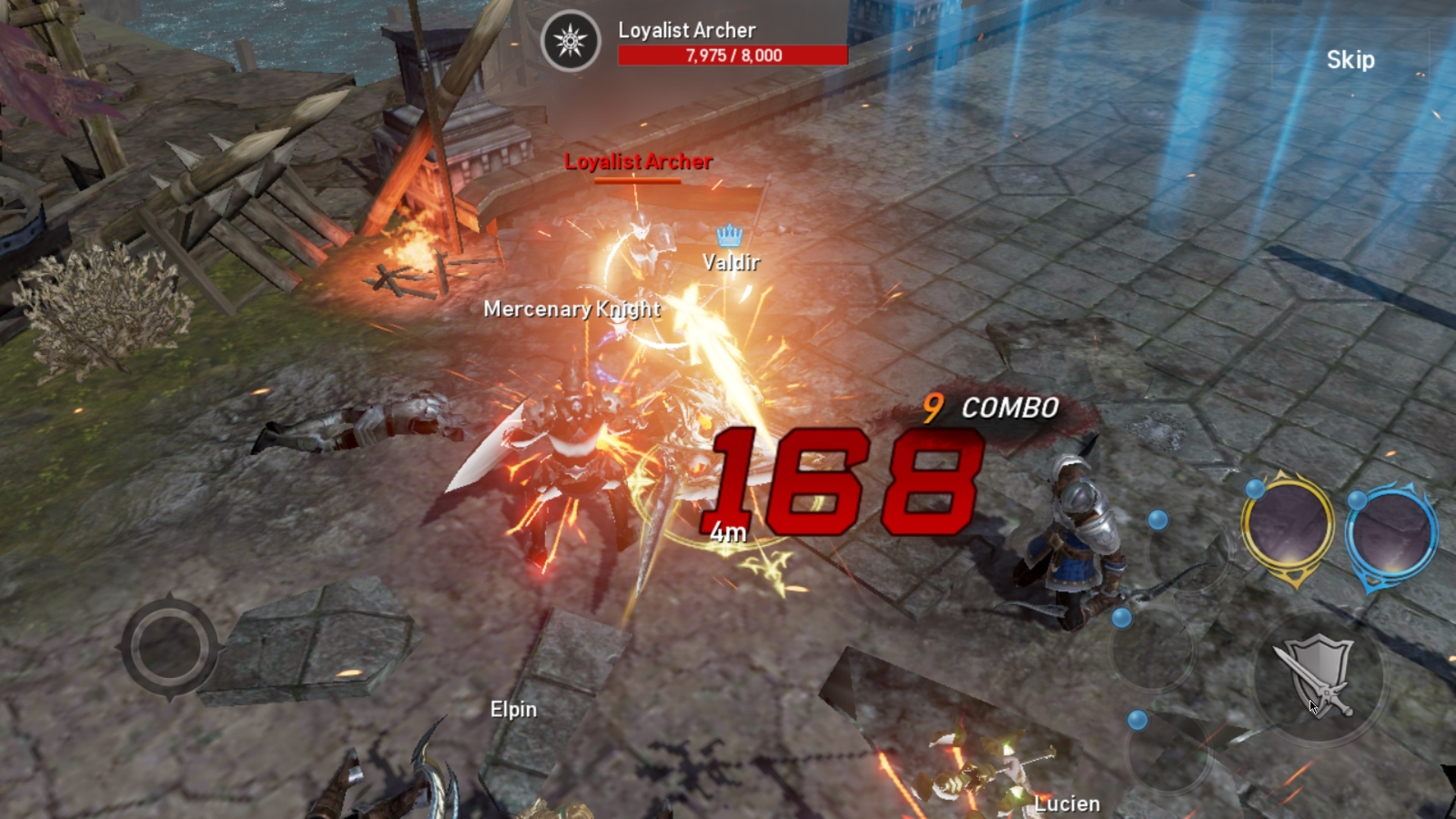 Lineage 2 Revolution Gameplay Image 1