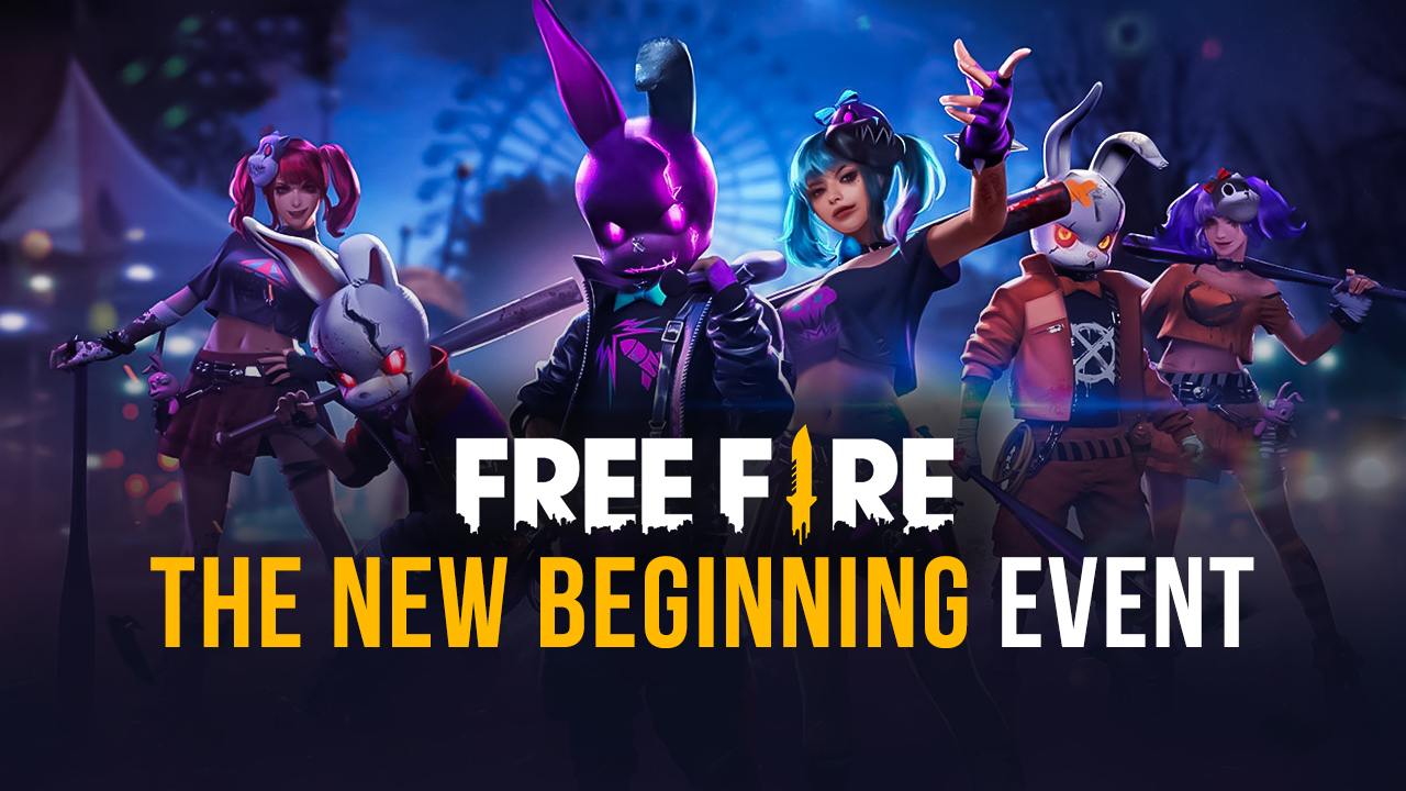 Free Fire – All You Need to Know About 'The New Beginning' Event