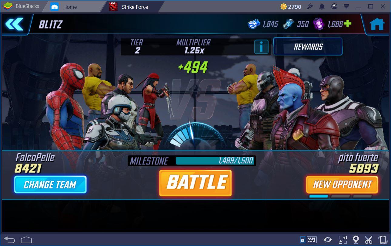 MARVEL Strike Force: Guida ai Personaggi