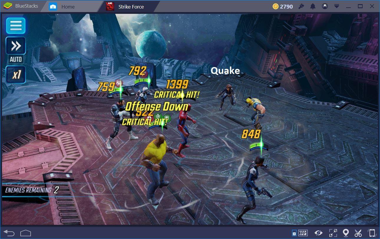 MARVEL Strike Force: Come formare il Team perfetto