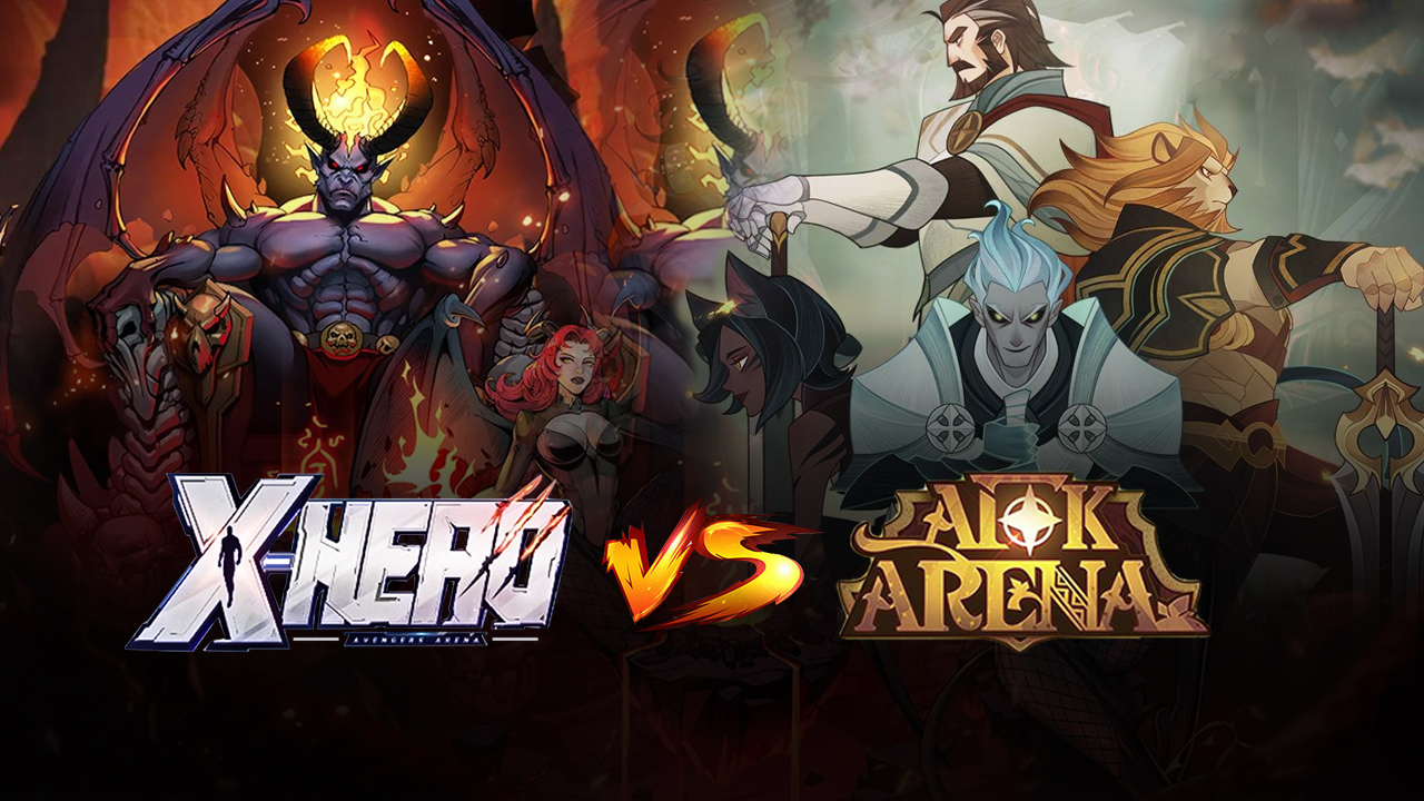 X-Hero Idle Avengers Vs AFK Arena: Which One is Better?
