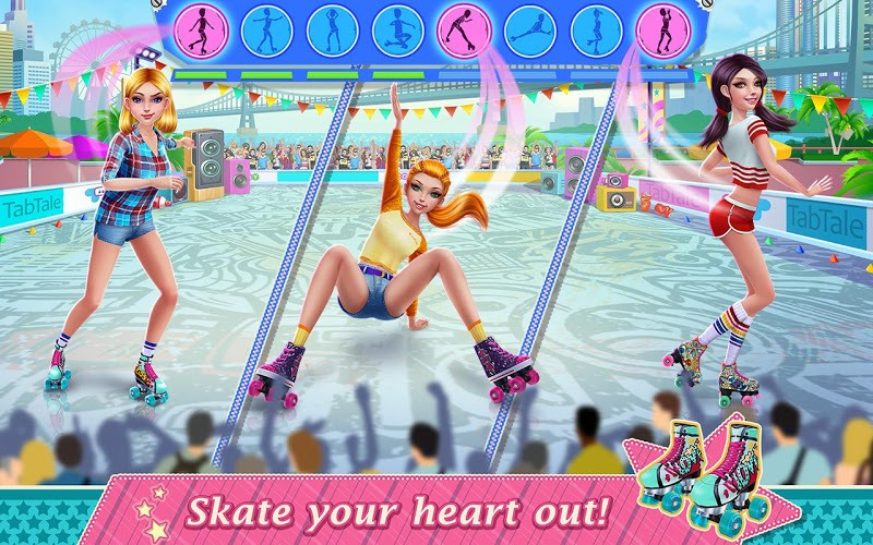 Play Roller Skating Girls – Dance on Wheels on PC 10