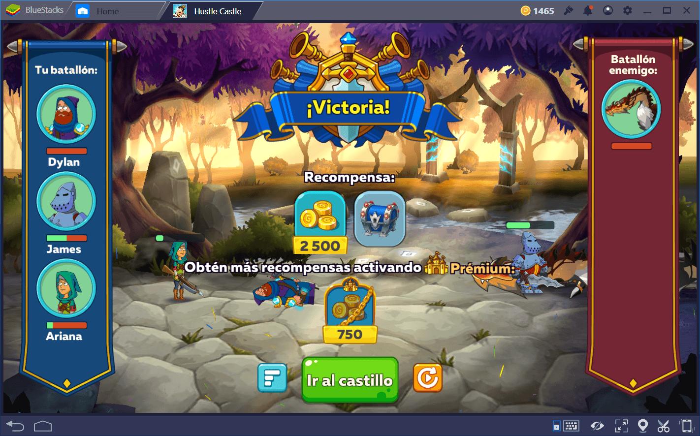Haciendo Progreso en Hustle Castle: Castillo Mágico
