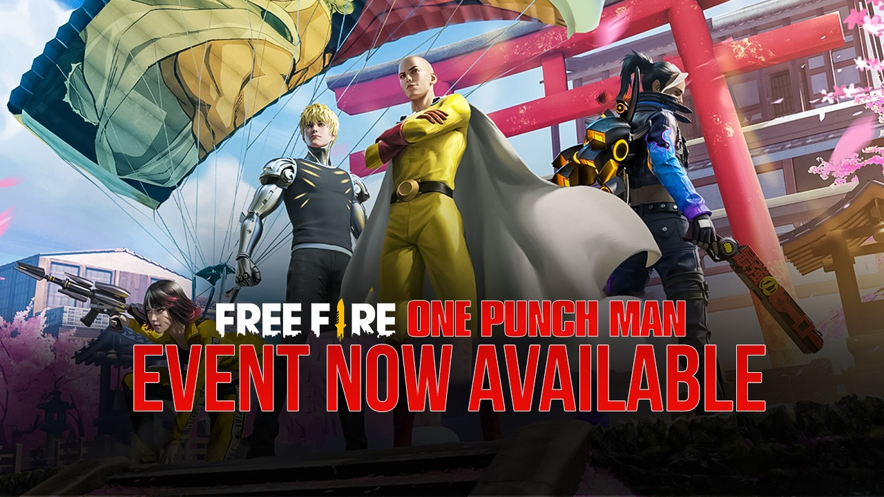 Garena Free Fire One Punch Man Event Now Available In Game Bluestacks