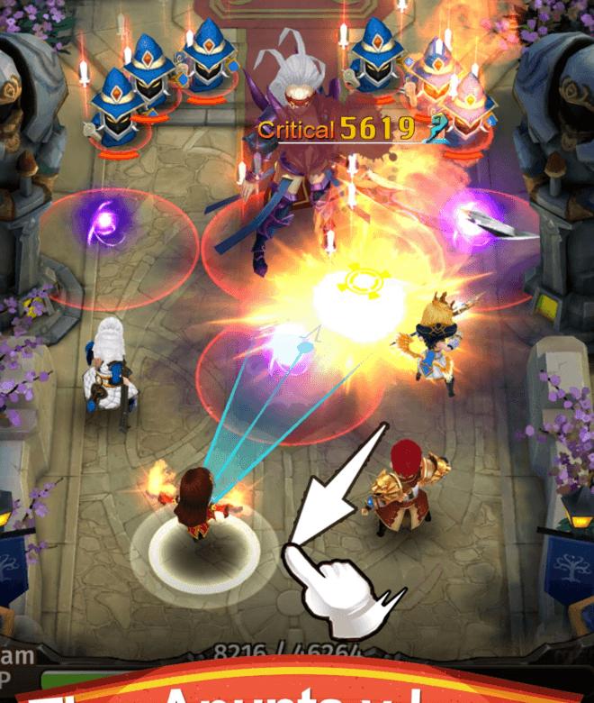 Juega Hyper Heroes: Marble-Like RPG en PC 4