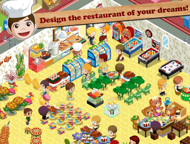 Play Restaurant Story: Food Lab on PC 14
