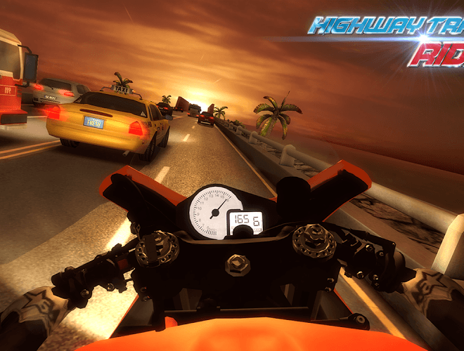 Играй Highway Traffic Rider На ПК 14