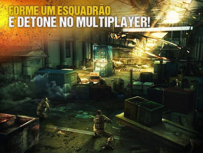 Jogue Modern Combat 5: Blackout para PC 4