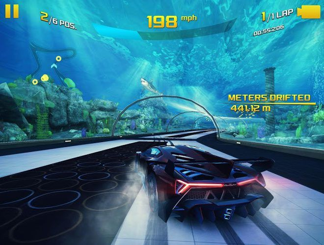 Spustit Asphalt 8: Airborne on PC 8