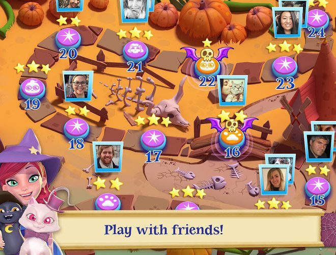 เล่น Bubble Witch Saga 2 on pc 12