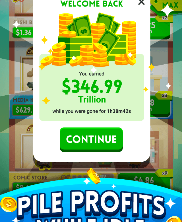 Play Cash, Inc. Money Clicker Game & Business Adventure on PC 6