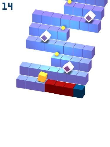 เล่น Cube Roll on PC 15
