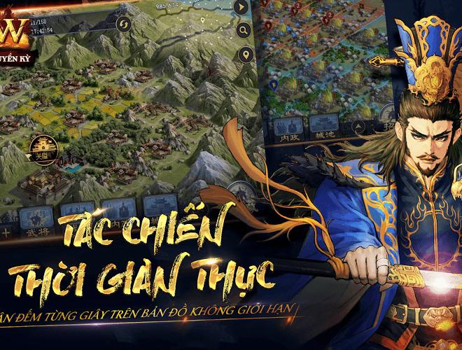 Chơi Row Tam Quốc Chí Truyền Kỳ VNG on PC 11