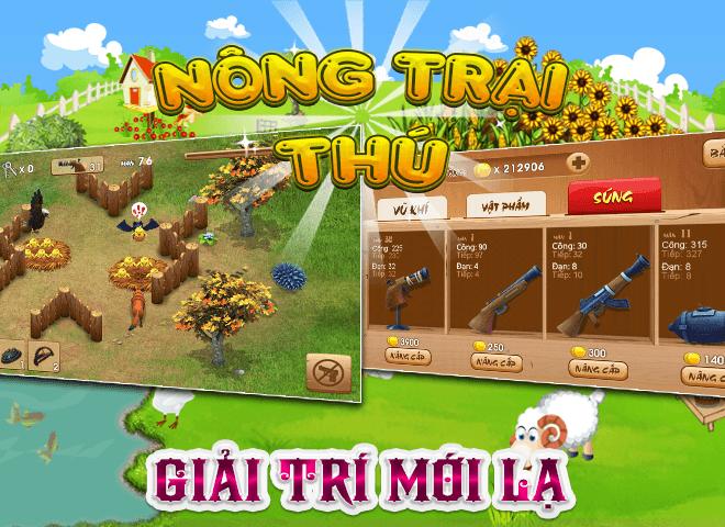 Chơi Nong Trai Thu – Dau Truong Thu on PC 6
