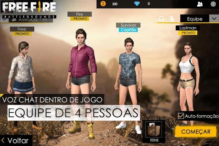 Jogar Garena Free Fire No Pc Com O Emulador De Android Bluestacks