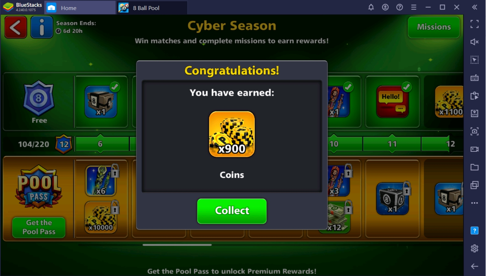 Fastest Way to Earn Coins in 8 Ball Pool on PC with BlueStacks