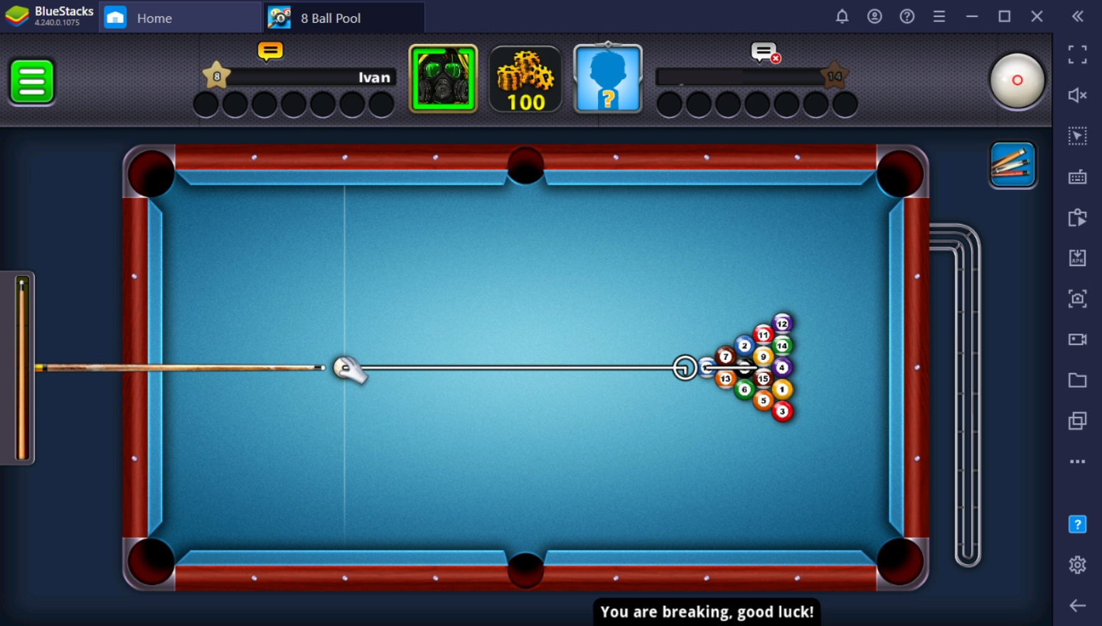 Explaining the Rules of 8 Ball Pool on PC with BlueStacks