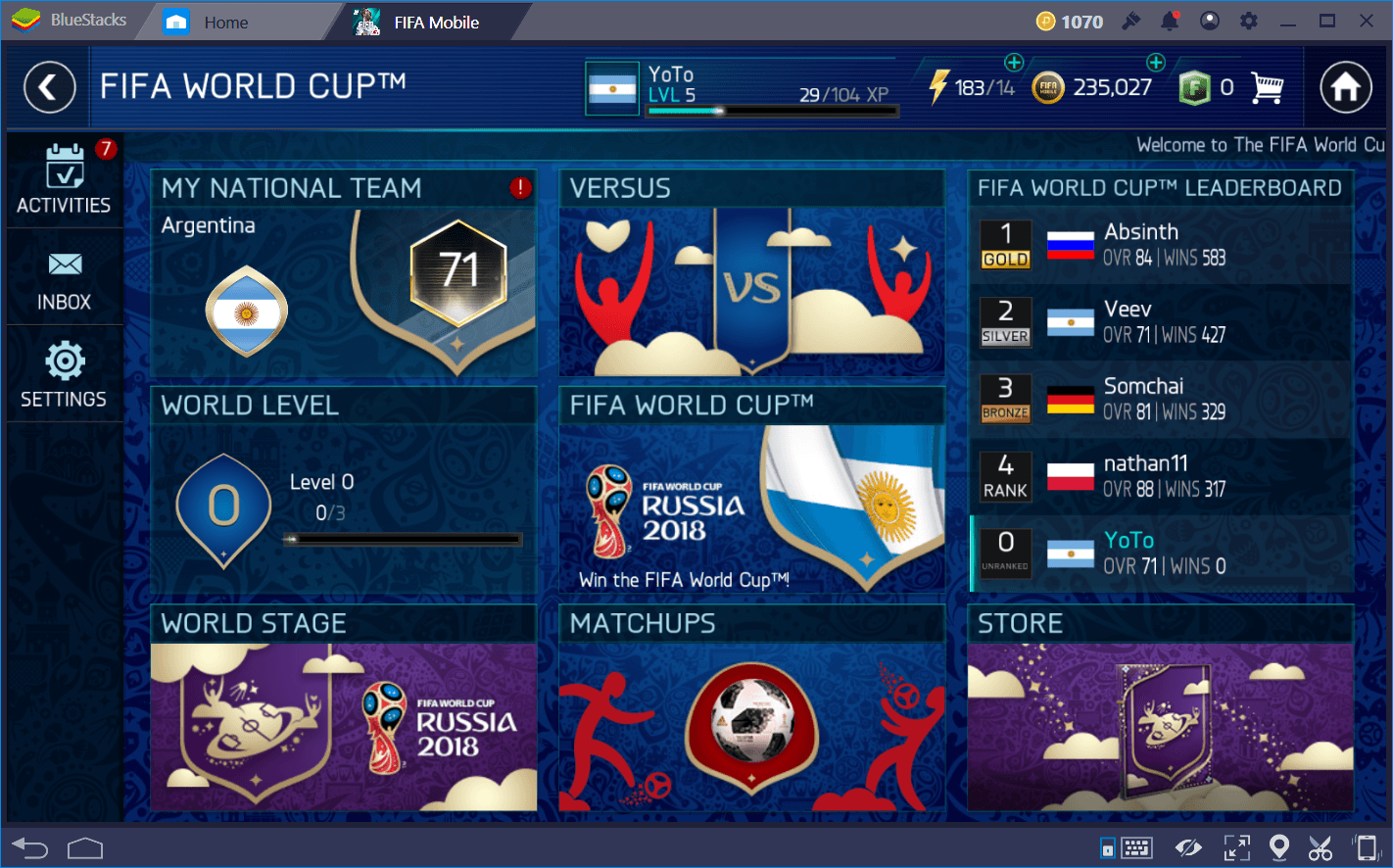 FIFA Soccer: FIFA World Cup (FIFA Mobile) Special World Cup Event Guide