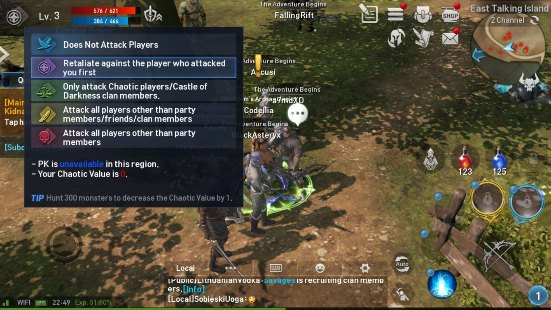 Lineage 2 Revolution Gameplay Image 2