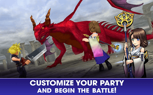 เล่น Dissidia Final Fantasy Opera Omnia on PC 11
