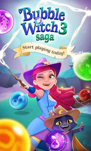 Chơi Bubble Witch 3 Saga on PC 7