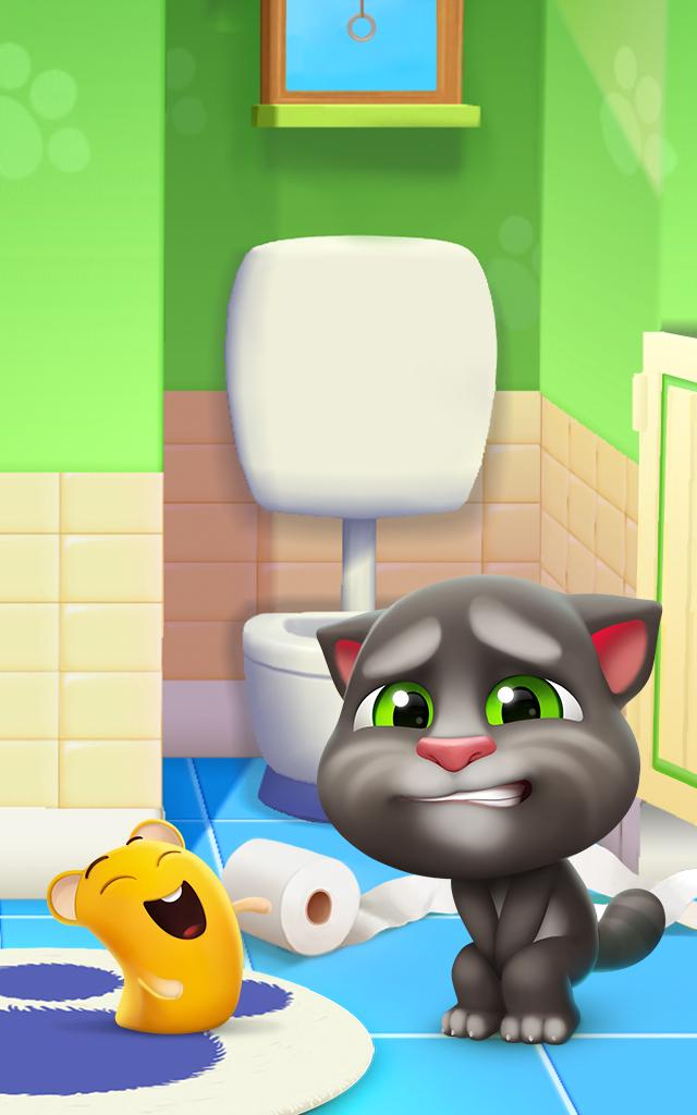 Download My Talking Tom 2 on PC with BlueStacks
