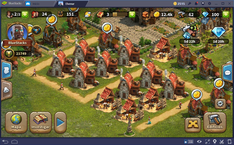 Consejos Para Construir Tu Ciudad en Elvenar