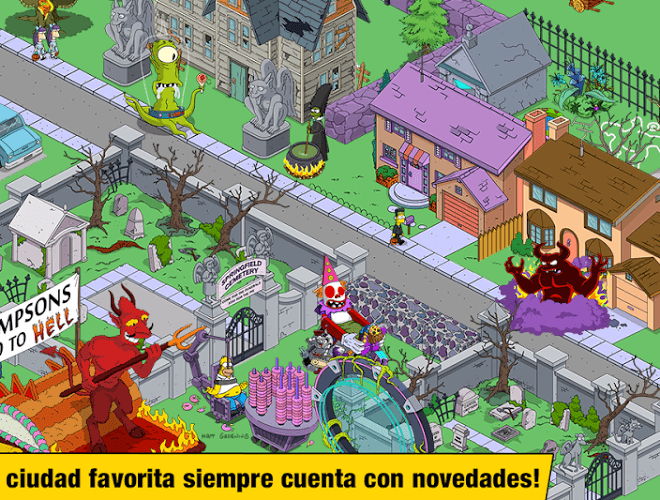 Juega Simpsons Tapped Out on pc 5