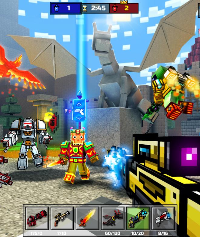 Pixel Gun 3D: Survival shooter & Battle Royale İndirin ve PC'de Oynayın 16