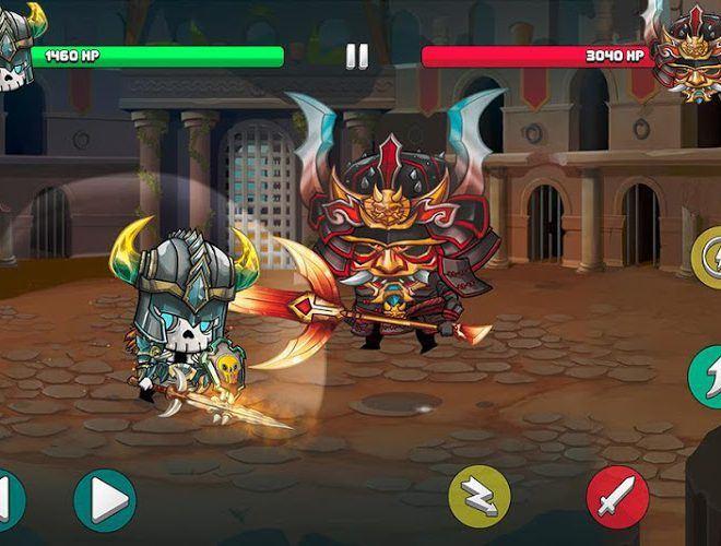 Играй Tiny Gladiators На ПК 10