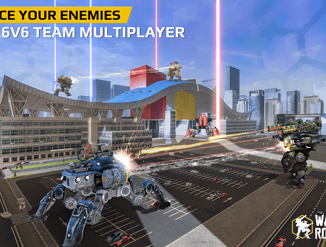 Play Walking War Robots on PC 5