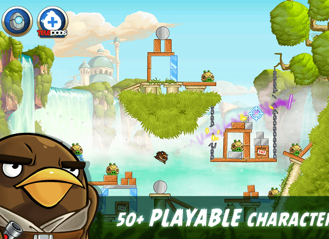 Play Angry Birds Star Wars II Free on PC 4