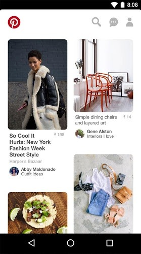 Main Pinterest on PC 7