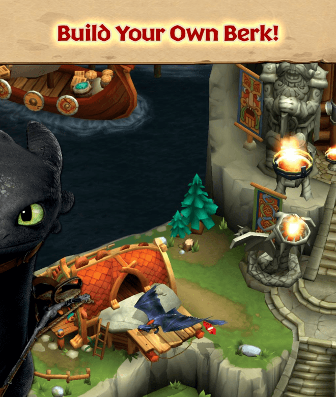 Играй Dragons: Rise of Berk На ПК 3