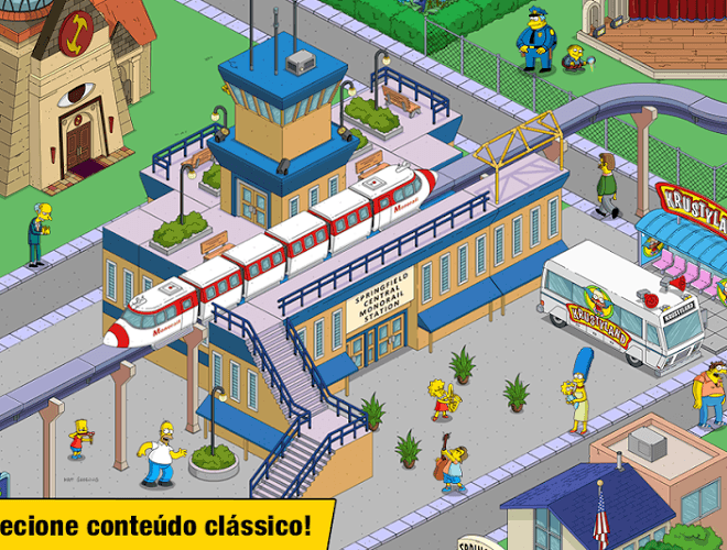 Jogue Simpsons Tapped Out on pc 4