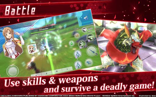 เล่น Sword Art Online: Integral Factor on PC 11