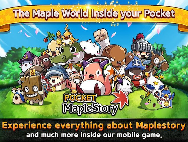เล่น Pocket MapleStory on PC 4