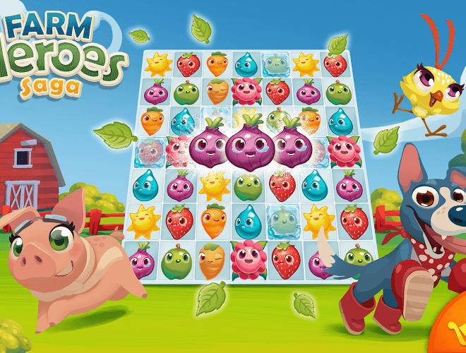 Jouez à  Farm Heroes sur PC 19