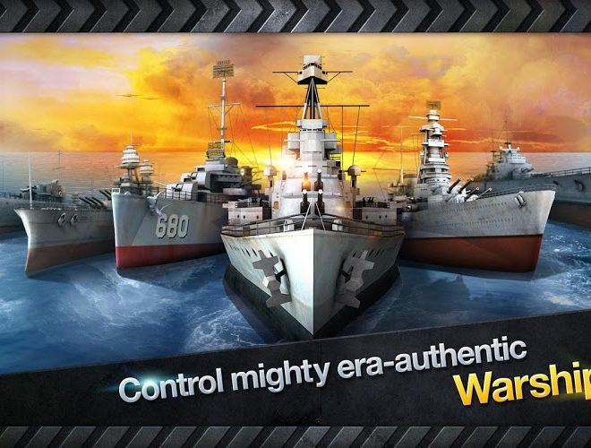 Chơi Warship Battle World War II on pc 4