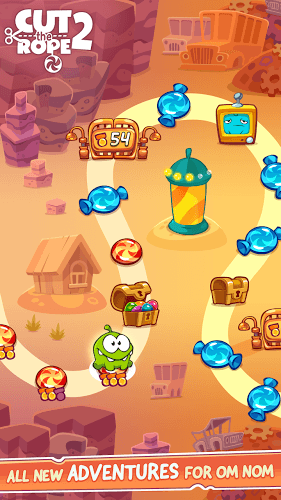 Play Cut The Rope 2 on pc 8