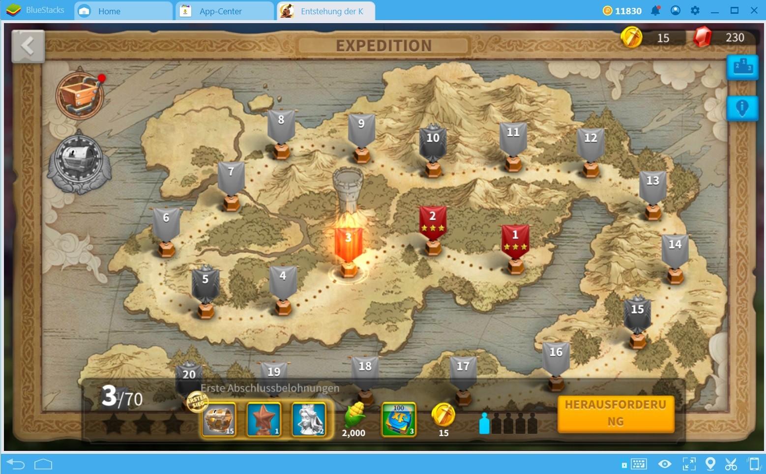 Die besten Tipps und Tricks für Rise of Kingdoms