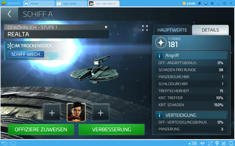 Star Trek Fleet Command Kampf-Guide