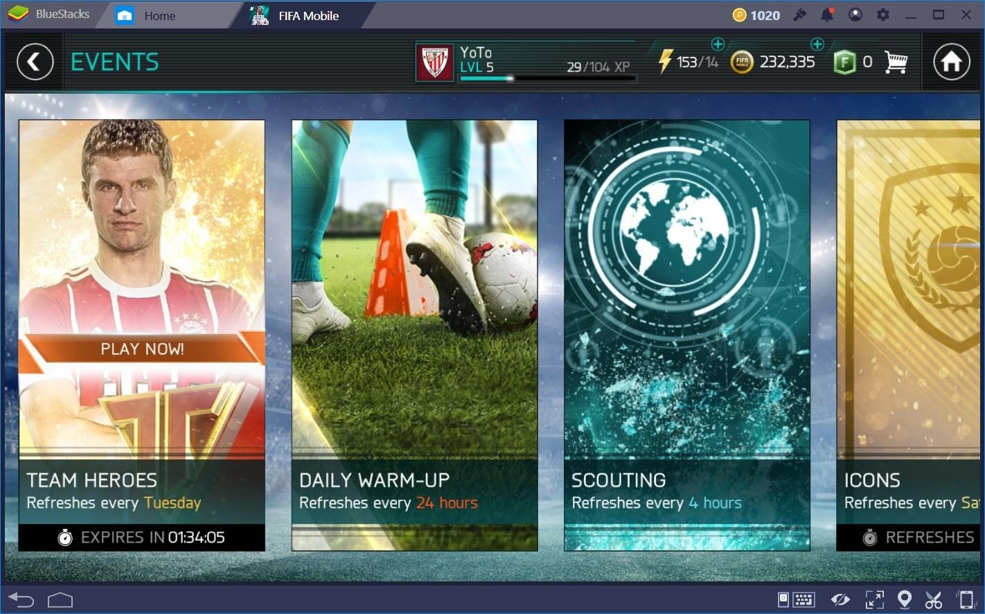 Wie man in FIFA Fußball (FIFA Mobile) schnell Geld macht