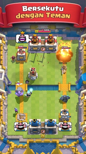 Main Clash Royale on PC 3