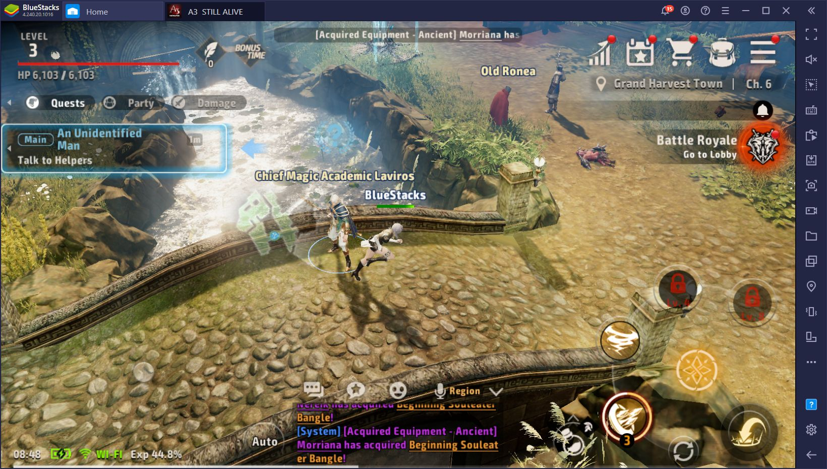 A3: Still Alive – How to Use BlueStacks to Play A3 PC
