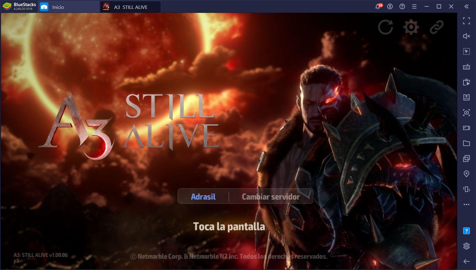 A3: Still Alive – Cómo Usar BlueStacks Para Jugar A3 en PC