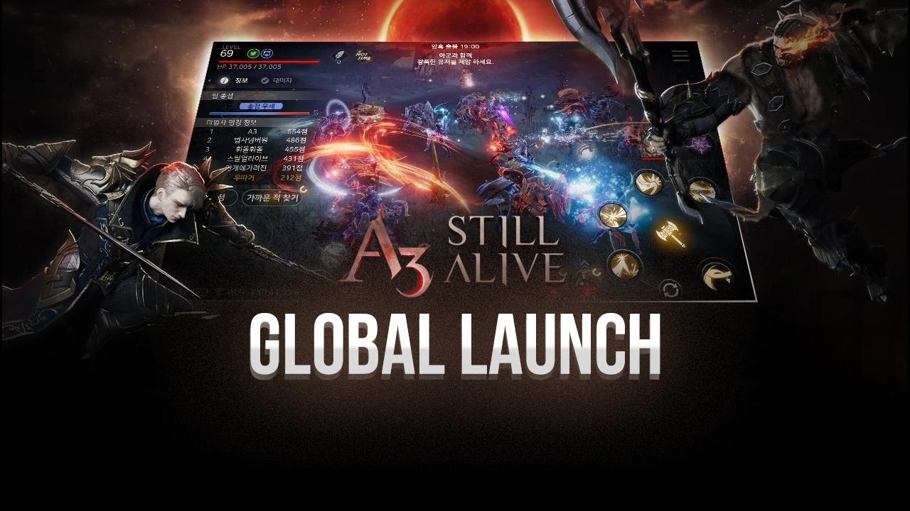 Netmarble's A3: Still Alive might revolutionize mobile MMORPGs