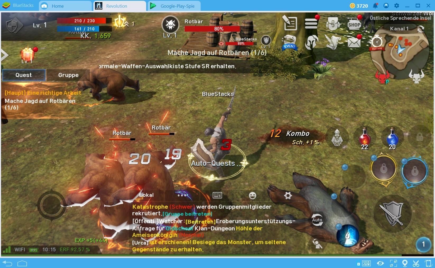 Die Top 5 der Spiele, die du mit dem neuen BlueStacks 4 spielen solltest